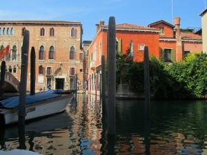 Вид на дом в Венеции