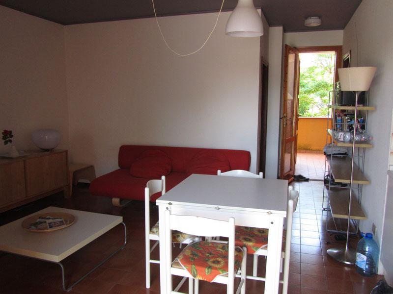 Комната-кухня в квартире на море вЛидо делле Национи, Эмилья-Романия, Италия.