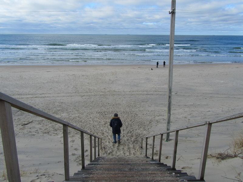 Балтийское море на Куршской косе, Клайпеда