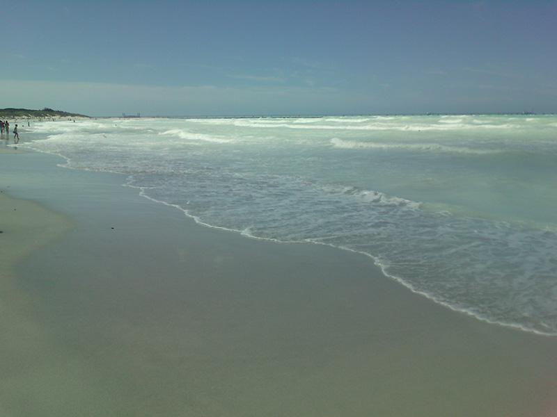 Италия, Вада, пляж