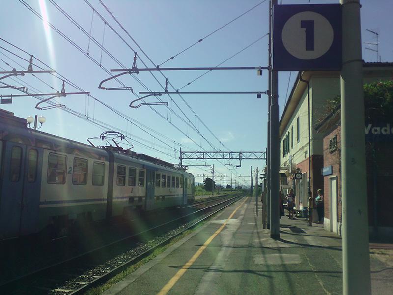 Вокзал в Ваде - это маленькая станция