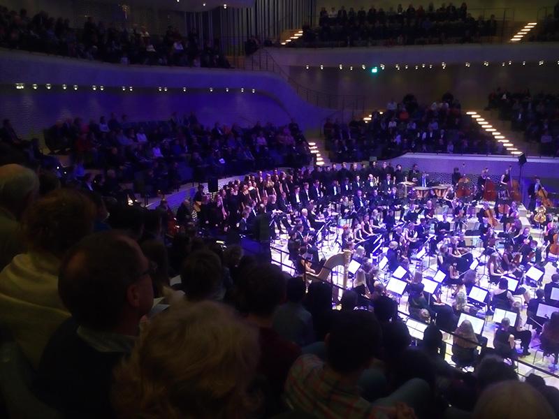 Хор вместе с оркестром