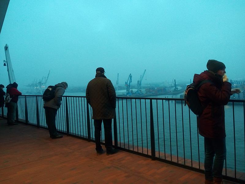 Смотровая площадка в Elbphilharmonie