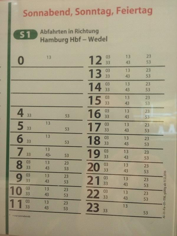 В выходные поезда ездят также каждые 10 минут
