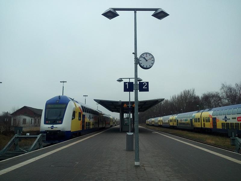 """Поезд """"Гамбург-Куксхавен"""""""