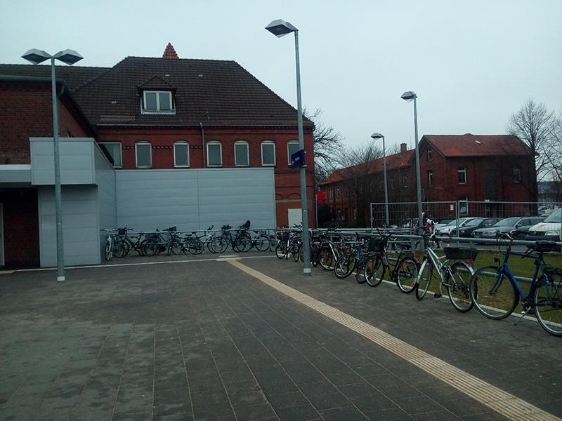 Вокзальная велопарковка
