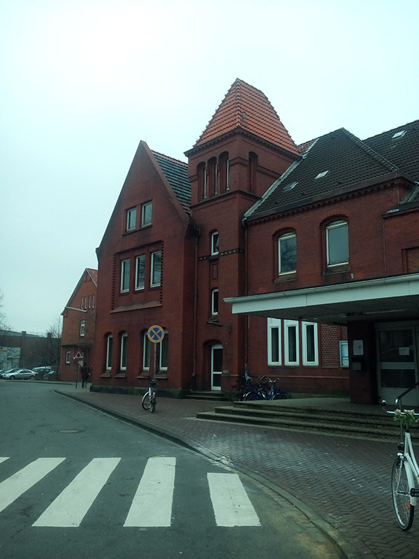Вокзал в Куксхавене