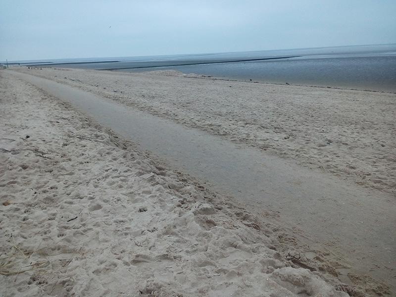 Пляж в Кугельбаке