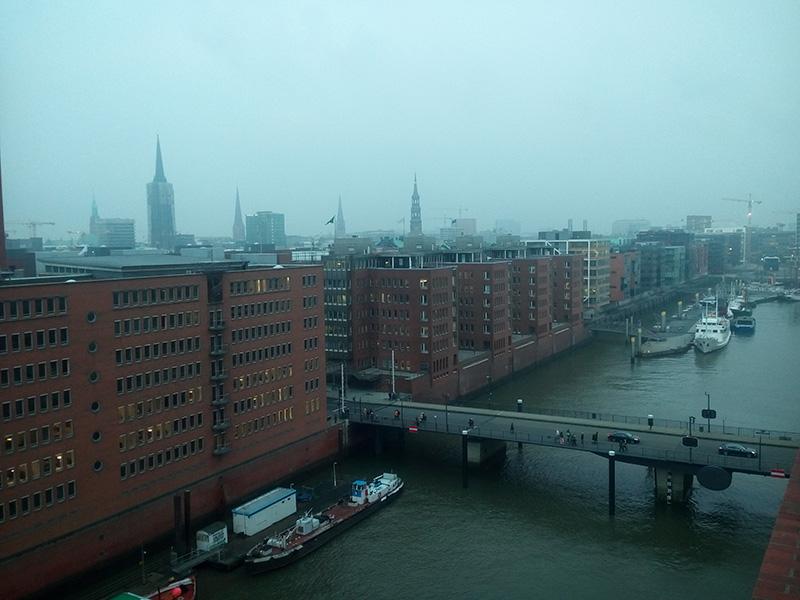 Вид на город