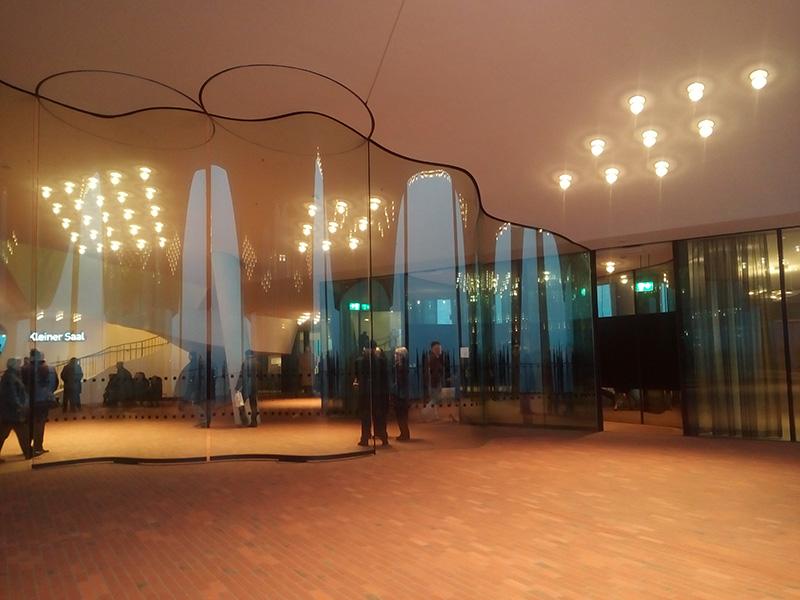 Фойе в Elbphilharmonie